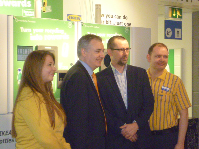 IKEA EDINBURGH REVERSE VENDING RICHARD LOCHHEAD REVERSE VENDING MACHINE