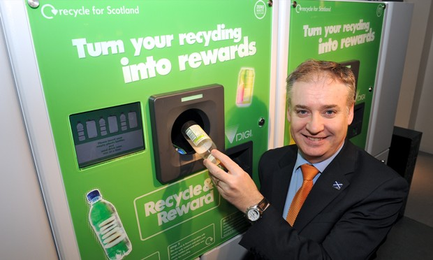 RICHARD LOCHHEAD REVERSE VENDING MACHINE